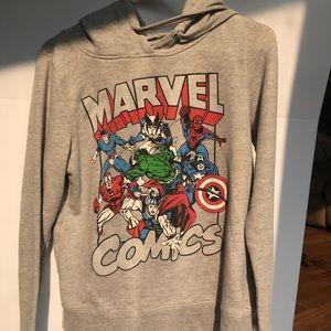 Marvel Comics grey hoodie